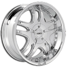 Giovanna Wheels<br> 505 Chrome