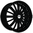 Giovanna Wheels<br> 805 Black