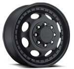 Vision Wheels <br>Hauler Dually 181 Matte Black Front
