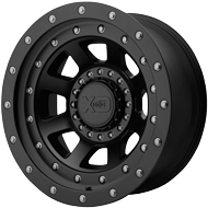 KMC XD137 FMJ Satin Black Wheels