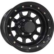 Keystone Beadlock Black Wheels