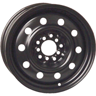 Keystone OE Snow Black Wheels