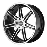 Lorenzo Wheels<br /> WL198 Gloss Black