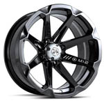 Motosport Alloys<br/> M12 Diesel (Black) ATV Wheels