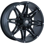 Mayhem Wheels<br/> 8090 Rampage Matte Black