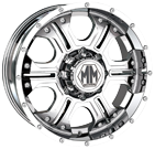 Mayhem Wheels<br /> HAVOC 8020 Chrome
