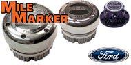 Mile Marker Lockout Hubs for Ford