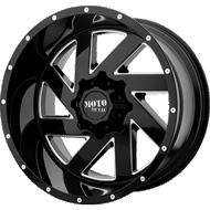 Moto Metal MO988 Melee Gloss Black Milled Wheels