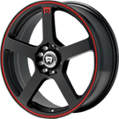 Motegi Racing Wheels<br /> MR116 Matte Black