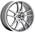 MSR Wheels <br>043 Super Finish Silver