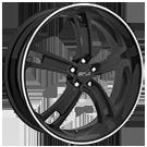 MSR Wheels <br>Style 087 Black