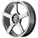 Motegi Racing Wheels<br /> MR116 Silver