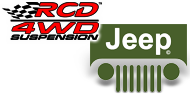 RCD Jeep Suspension Lift Kits