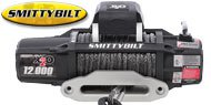 Smittybilt X20-12 Comp Gen2 <br/>Waterproof Winch with Synthetic Rope <br/>and Aluminum Fairlead - 12,000 lbs.