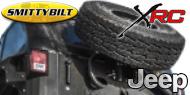 Smittybilt XRC Slant Back Tire Mount<br/> 07-17 Jeep Wrangler JK