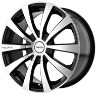 Touren Wheels<br /> TR3 Black with Machined Face