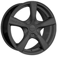 Touren Wheels<br /> TR9 Matte Black