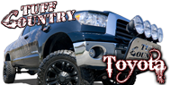 Tuff Country Suspension - Toyota