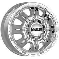 Ultra Wheels <br />049C Predator Dually Front Chrome Plated