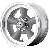 American Racing VN Wheels 105 Torq Thrust Gray Machined Lip Wheels