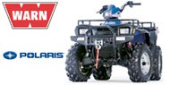 WARN Mounting Systems for Polaris ATVs
