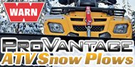 Warn Provantage<br /> ATV Snow Plows