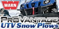 Warn Provantage<br /> UTV Snow Plows