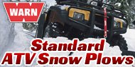 Warn Standard<br/> ATV Snow Plows