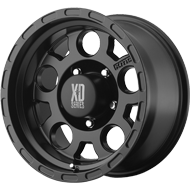 XD122 Enduro Wheels <br> Matte Black