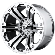 XD778 Monster Wheels <br> Chrome