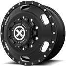 ATX WHEELS <BR/>AO402 INDY SATIN BLACK MILLED