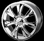 Baccarat Wheels <br/>Mirage 1120C Chrome