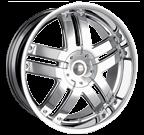 Baccarat Wheels <br/>Fusion 2140C Chrome