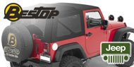 Bestop Jeep Tinted Window Kits for Jeeps with Sailcloth Replace-a-top