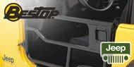 Bestop Jeep HighRock™ 4x4 Element™ Doors for 1976-1995 Wrangler YJ, CJ7 & CJ8 Scrambler