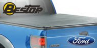 Bestop® ZipRail™ Tonneau Covers for 2004-2017 F150 Crew Cab/Super Cab