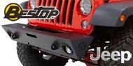 Bestop® HighRock 4x4 Front Modular Bumper for 2007-2017 Jeep Wrangler 2-Dr/4-Dr