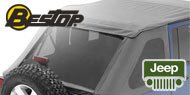 Bestop Tinted Window Kits for Jeeps with for Trektop NX