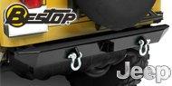 Bestop HighRock 4x4™ <br>Jeep Rear Bumper <br>1987-1995 Wrangler YJ