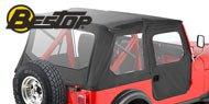 Bestop  Tigertop™ Soft Top <br>76-86 Jeep CJ7