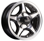 Black Rock Wheels<br/> 922MB Crosstrax Machined