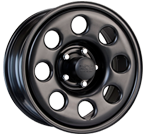 Black Rock Wheels<br/> 937B Type 8P Matte Black