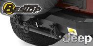 Bestop HighRock 4x4™ <br>Approach and Departure Roller <br>Jeep Wrangler