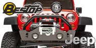 Bestop HighRock 4X4™ Narrow Style Front Bumper 07-Present Wrangler