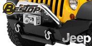 Bestop HighRock 4x4™ <br>Jeep Front Bumper <br>2007-17 Wrangler JK 2D/4D