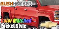 Bushwacker Color-Matched Fender Flares <br> Pocket Style® for Chevy