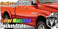 Bushwacker Color-Matched Fender Flares <br> Pocket Style® for Dodge