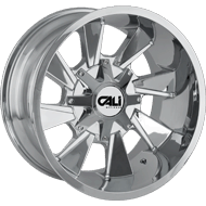 Cali Offroad Wheels<br/> Distorted Chrome