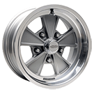 Cragar Wheels <br />500 Eliminator Gray