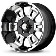 Diamo Wheels<br> 17 Karat Black